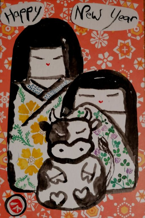 Kokeshi valérie Eguchi
