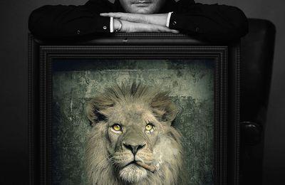 Sylvain Binet, créateur d'affiches pour le cirque Arlette Gruss