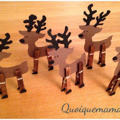 DIY : Les rennes du Père Noël