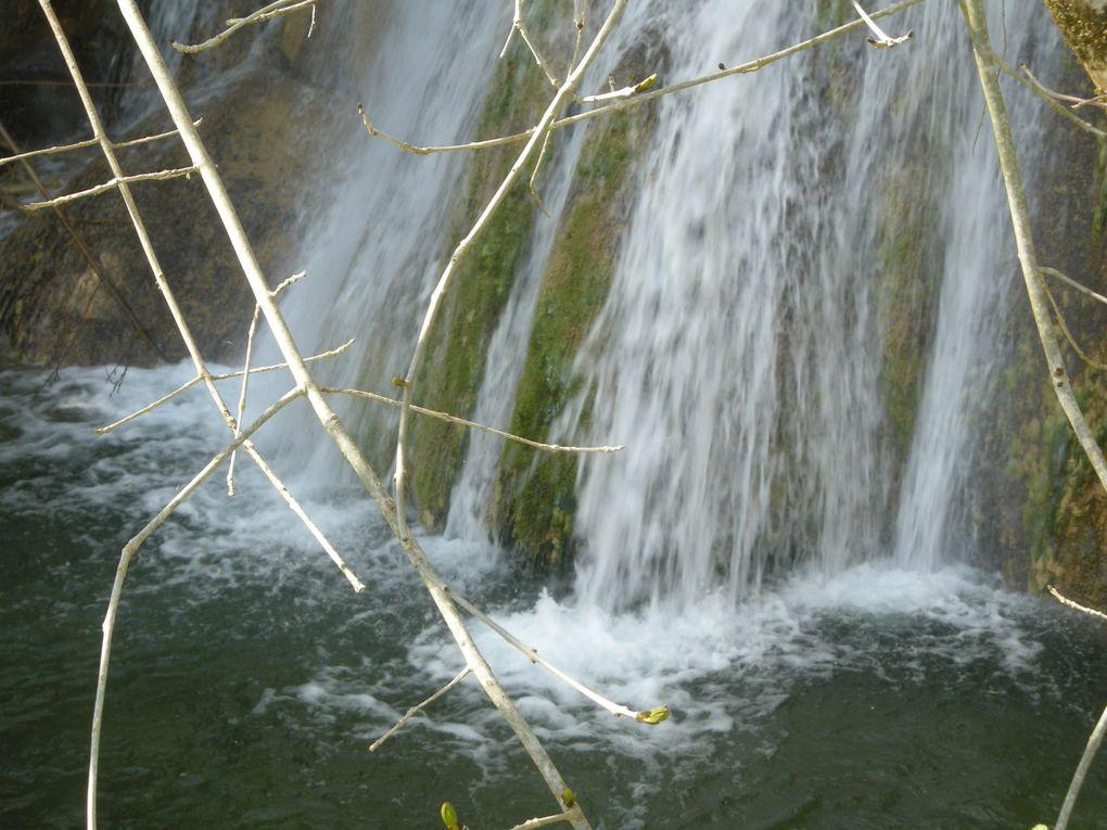 des cascades de la région du Tarn et de l'Ariège