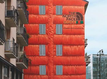 Marketing : Gucci dévoile sa collection capsule avec The North Face ... en mode OOH