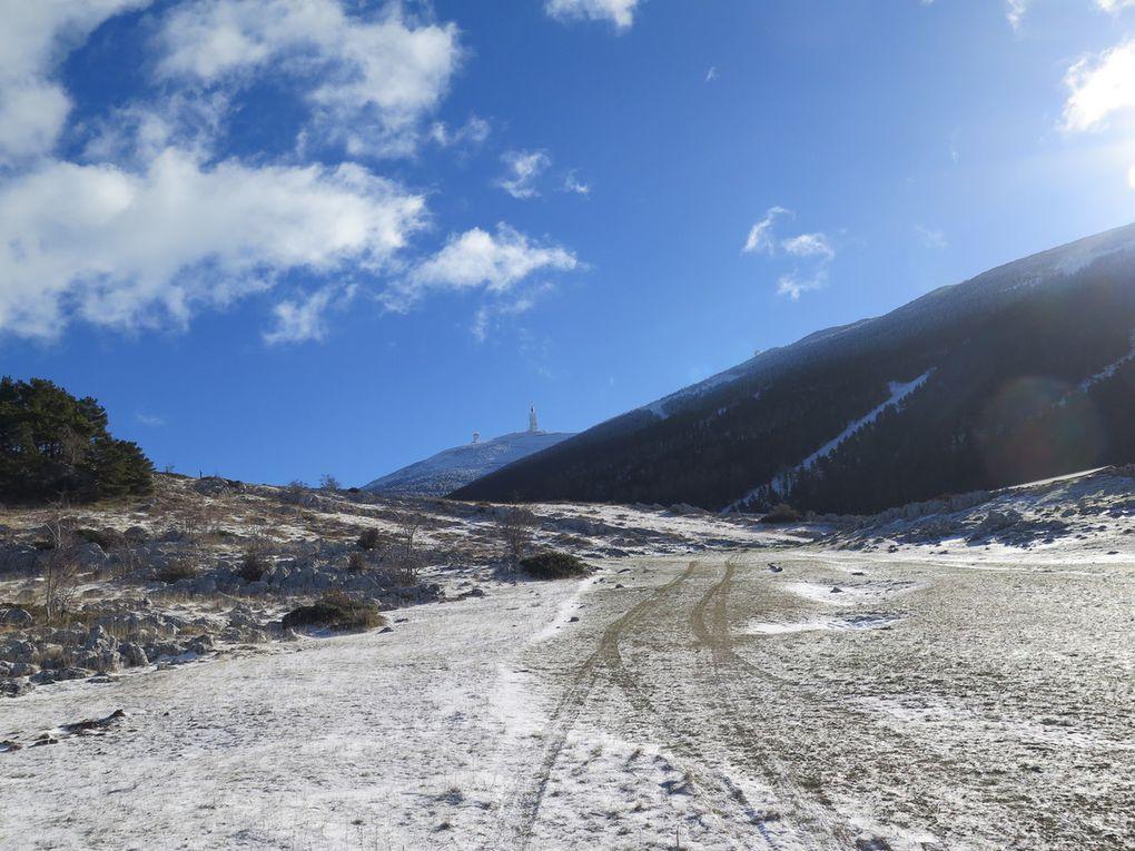 Week-end au mont Ventoux : Dimanche 17 Janvier