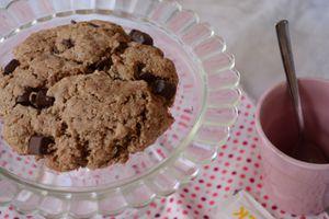 Jumbo Cookies au chocolat