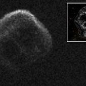 Asteroid with SKULL face will zip past earth just after Halloween