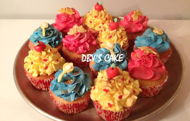 Cupcakes Blanche Neige