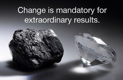 CHANGE is mandatory for extraordinary results