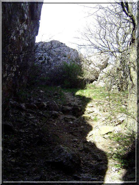 Diaporama château de CAMPS sur l'AGLY