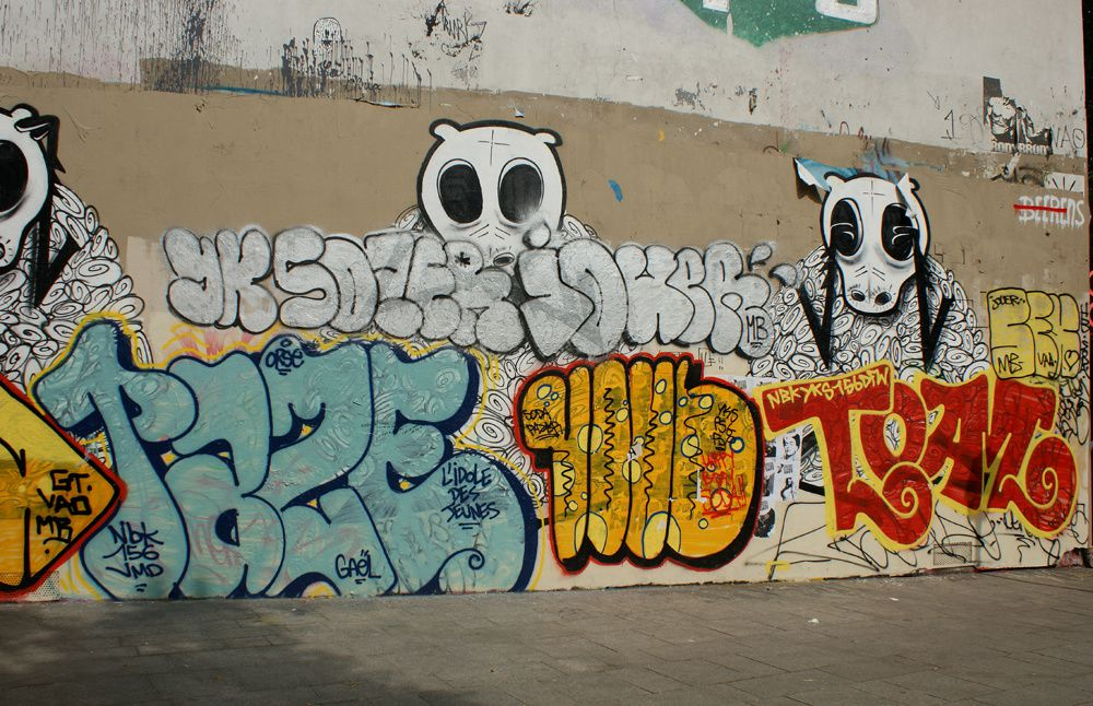 Album - Graffitis-PARIS-divers-Tom-005