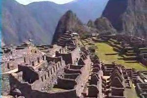 Google Earth : Site archéologique du Machu Picchu (Pérou)