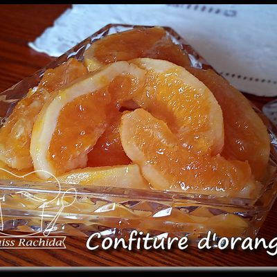 Confiture d'orange  (de nos grandes-mamans)