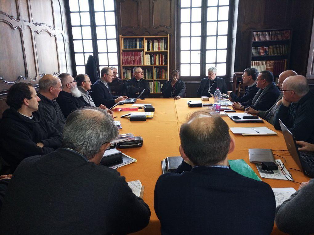 Visite de Mgr. Longa à Bayonne : mars 2018