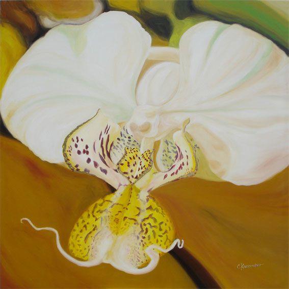 La Barcarolle. Format des tableaux :120x120cm,  technique: Acrylique sur toile en coton