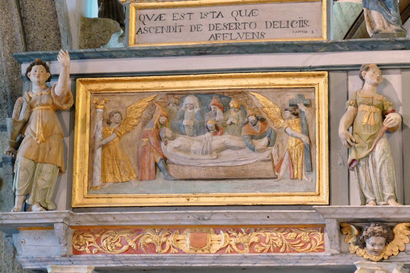 Tribune (1724) de la chapelle Notre-Dame de Berven en Plouzévédé. Photographie lavieb-aile août 2017.