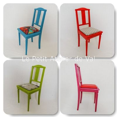 Relooking Chaises Lauriane