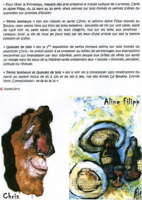 ALINE FILIPP ET CHRIS R