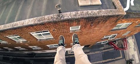 First person parkour