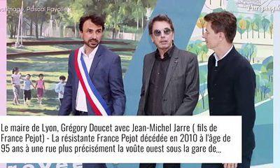 (Vidéo) Jean-Michel Jarre et sa fille Emilie inaugurent le passage France Pejot à Lyon le 12/07/2021