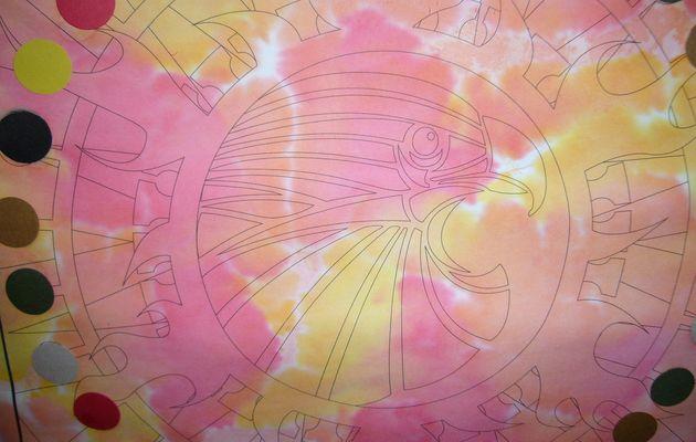 Notre dessin avec papier crépon