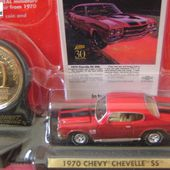 CHEVY CHEVELLE SS 1970 30TH ANNIVERSARY JOHNNY LIGHTNING 1/64 - car-collector.net