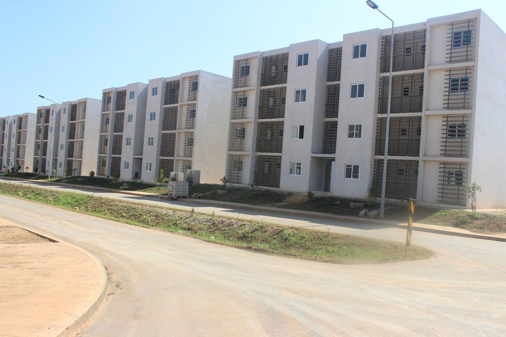 Centenas de habitações previstas na primeira fase do Plano Nacional de Urbanismo e Habitação, já estão concluídas no Kilumoso.