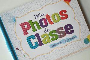 """L'objet du jour : Le livre """"Mes photos de classe"""" !"""