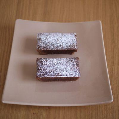 Fondant à la crème de marron et chocolat