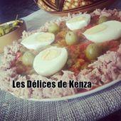 Chleta ou Salade de poivrons - Les Delices de Kenza
