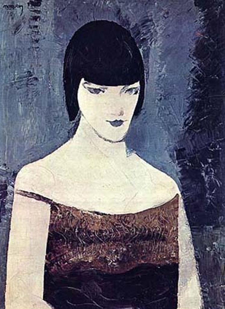 Man Ray - Portrait de Kiki de Montparnasse, 1923