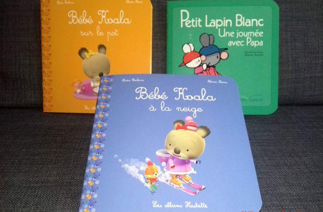 [Papathèque] Lecture : petites histoires avec Bébé Koala et Petit Lapin Blanc