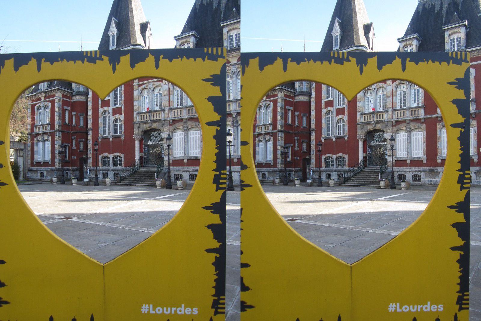 Photos 3D : Pau => Lourdes à vélo
