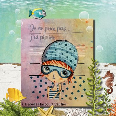 J'ai Piscine - Collection Miss Tarlatane