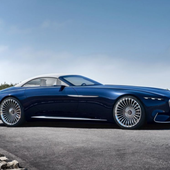 Yachting - Vision Mercedes-Maybach 6, le cabriolet yacht ! - ActuNautique.com