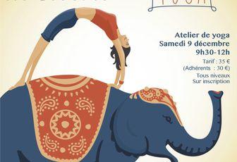 """Atelier de yoga du 9 décembre : """"Un vent de liberté"""""""