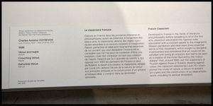 Jupiter, Athénienne, Vénus, Écran de fenêtre : le Louvre-Lens, une ouverture sur le monde.