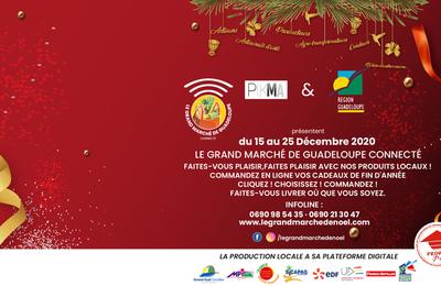 La Région Guadeloupe et Pikma lancent leur 1er grand marché de Noël connecté !