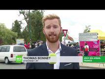 « De l'argent il y a en a dans les poches du patronat ! » : MANIFESTATION devant l'université d'été du MEDEF