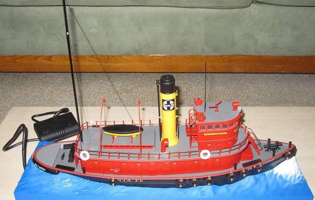 Lionel Santa Fe Railroad Tugboat échelle O