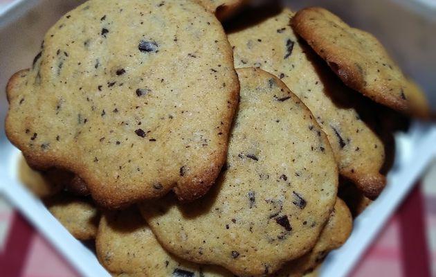 Cookies sans gluten.
