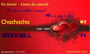 Cours du samedi - Session Chachacha et Rock'n roll