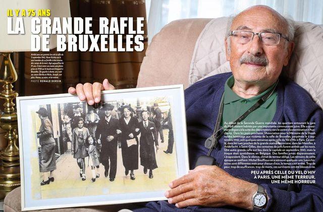 Il y a 75 ans, la grande rafle de Bruxelles