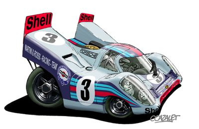 "Porsche 917 ""Cartoon"""