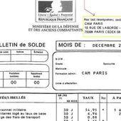 Soldes : Le ministère des Armées liquide (enfin) le système LOUVOIS