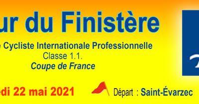 35ème Tour du Finistère samedi 22 mai (Europe Tour 1.1) 5ème manche de la Coupe de France FDJ