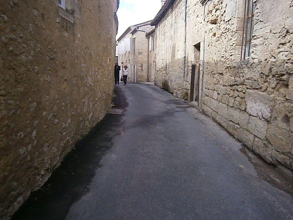 les rues de St Emilion