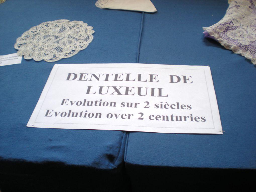 expo de dentelles de nos régions!!!