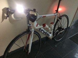 Lampes nécessaires pour terminer.... avant de passer au bike-wash !
