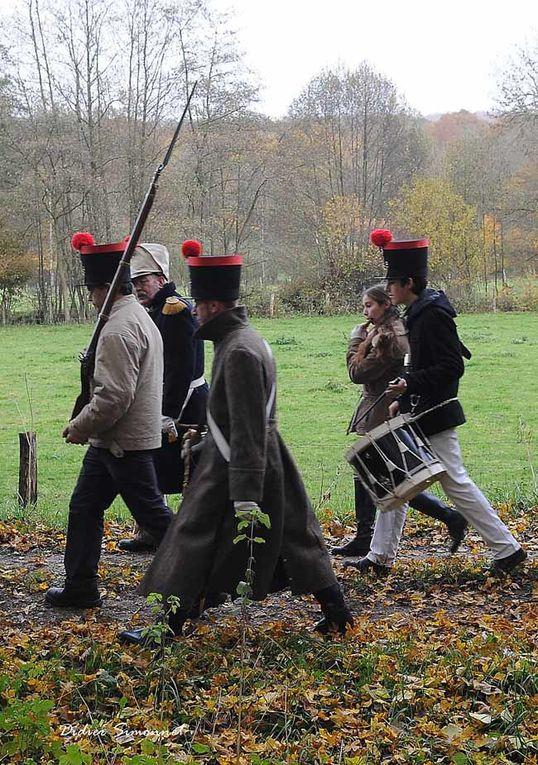 Les Grognards de la Marne, séance d'instruction du samedi 17 novembre 2012. Photographies Didier Simonnet
