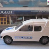 PEUGEOT 205 XA MULTI FOURGONNETTE VEREM 1/43 - 205XA PEUGEOT ASSISTANCE - car-collector.net