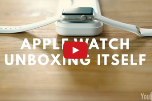 Superbe animation ''unboxing'' Apple watch. Un vrai mode ''social'' d'expression aux states.