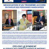 La CFE-CGC négocie un 3ème accord en faveur des personnes handicapées - CFE-CGC NORAUTO